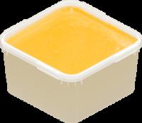 Крем мед с ананасом
