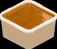 Крем мед с живицей темный