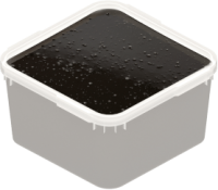 Крем мед с женьшенем черный